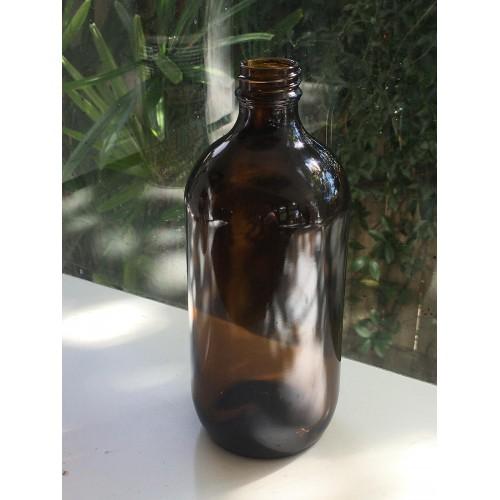 500ML Amber Bottle - Round