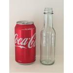 40 X 150ml Glass Table Sauce Bottle - Round (Bulk Price)