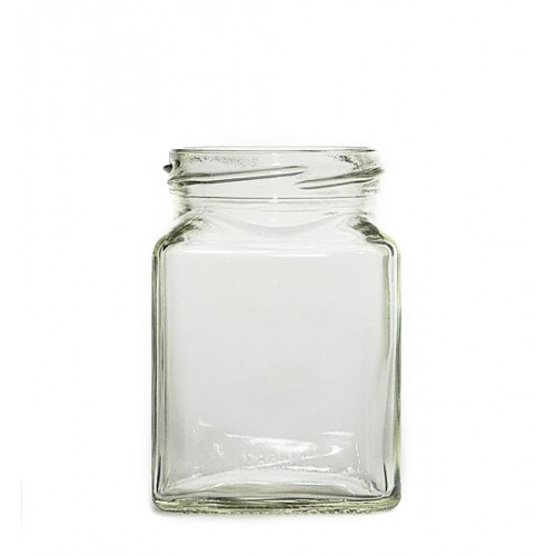 110ml Glass Jar - Square