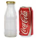 250ml Glass Bottle - Round