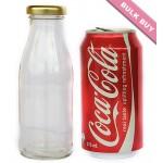 15 x 250ml Glass Bottle - Round
