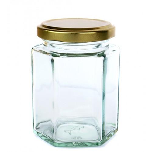 300ml Glass Jar - Hexaganol