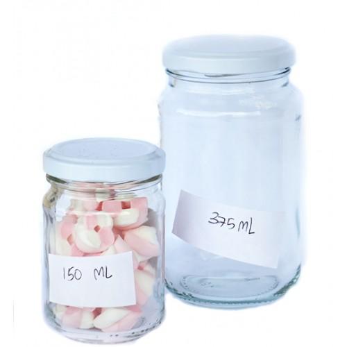 375ml Glass Jar - Round