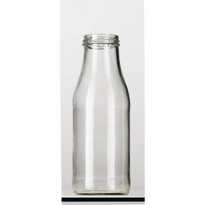 500ml glass bottle round