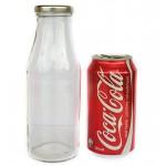 500ml Glass Bottle - Round