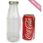 12 x 500ml Glass Bottle - Round
